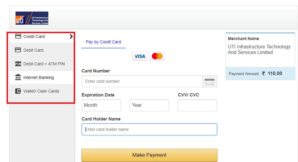 अपना पैन कार्ड घर बैठे खुद ऑनलाइन करे सिर्फ ११० रुपए में -hindpost.net