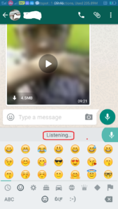 protect the privacy on WhatsApp
