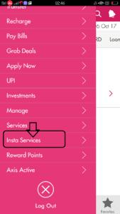 Axix Bank account मे आधार कार्ड लिंक करें