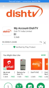 DishTV अकाउंट