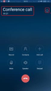 Conference call कैसे करें