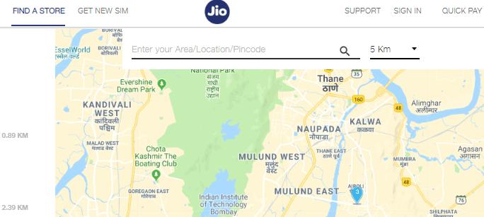 Jio store near me